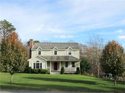 East Harwich Cape Cod vacation rental - Front lawn