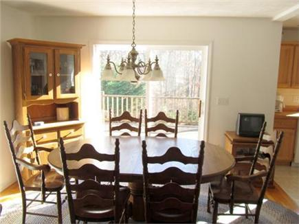 East Harwich Cape Cod vacation rental - Dinning room