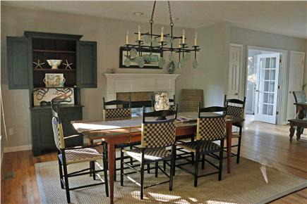 N. Falmouth Old Silver Beach Cape Cod vacation rental - DIning Room