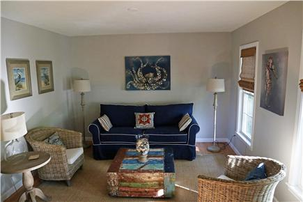 N. Falmouth Old Silver Beach Cape Cod vacation rental - LIving Room