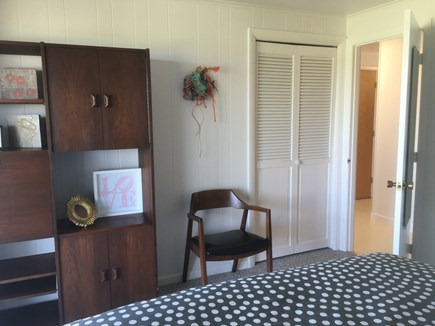 Wellfleet Cape Cod vacation rental - Lower level bedroom two with desk