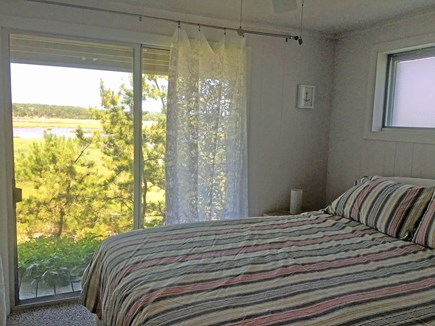 Wellfleet Cape Cod vacation rental - Lower level bedroom one with access to deck