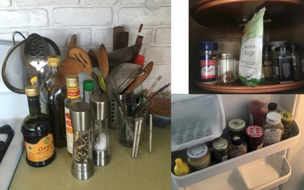 Wellfleet Cape Cod vacation rental - Kitchen for foodies, spices, condiments, oils, etc. stocked.