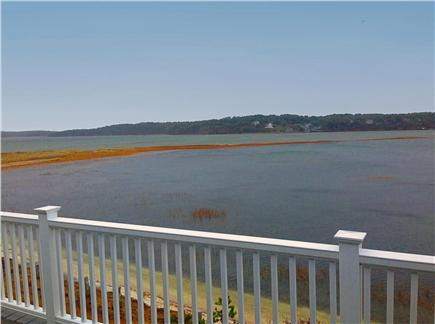Wellfleet Cape Cod vacation rental - High tide in front of house