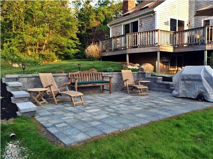 Brewster Cape Cod vacation rental - Rear patio and deck