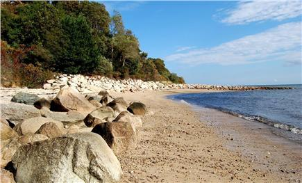 Plymouth MA vacation rental - Your own private beach is just steps away!