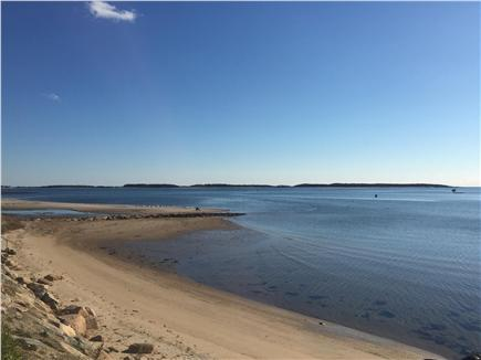 West Yarmouth Cape Cod vacation rental - The small beach at the end of the street...perfect for kids.