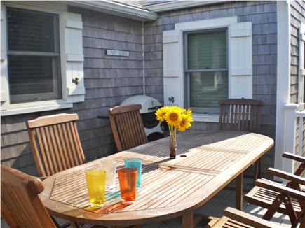 Eastham Cape Cod vacation rental - Dine al fresco on the back deck