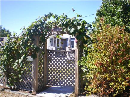 Eastham Cape Cod vacation rental - Gated entrance provides privacy and security