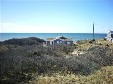 Eastham Cape Cod vacation rental - Panoramic view of Cape Cod Bay from roof deck and living room