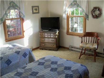 Eastham Cape Cod vacation rental - Downstairs bedroom 1 with twins