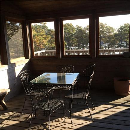 Paine Hollow/ South Wellfleet Cape Cod vacation rental - Screened porch