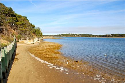 Paine Hollow/ South Wellfleet Cape Cod vacation rental - Beach at Pleasant Point is just 1/3 mile away