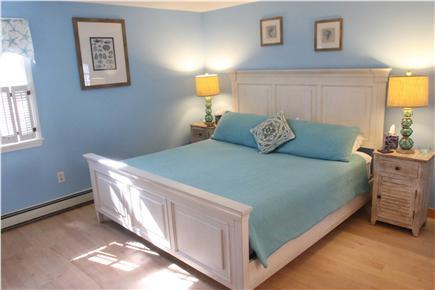 Chatham Cape Cod vacation rental - Master Bedroom w/ new Simmons Beautyrest mattress & en-suite bath