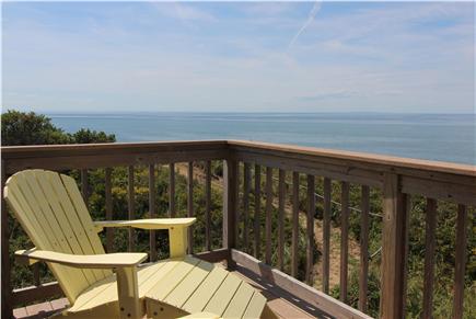 Truro Cape Cod vacation rental - Deck Off Upstairs Bedroom 4