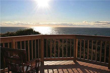 Truro Cape Cod vacation rental - View From Deck