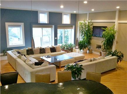 Pocasset Pocasset vacation rental - Contemporary great room is spectacular and larger than it looks
