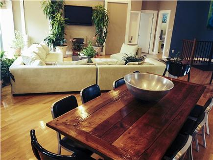 Pocasset Pocasset vacation rental - Plenty of seating with stunning views of the woodland and water
