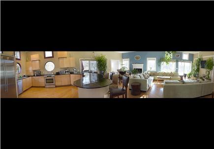 Pocasset Pocasset vacation rental - Actual view of the great room
