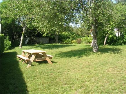 Chatham Cape Cod vacation rental - Yard and picnic table area