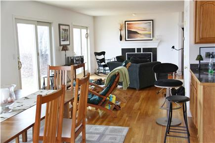 Plymouth MA vacation rental - Dining Room and Sitting Area