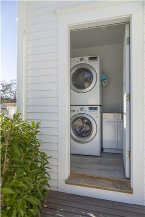 Chatham Cape Cod vacation rental - Laundry area