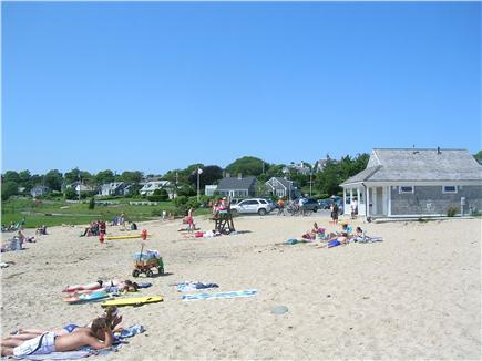 Chatham Cape Cod vacation rental - Oyster Pond Beach with bathroom and shower facilities