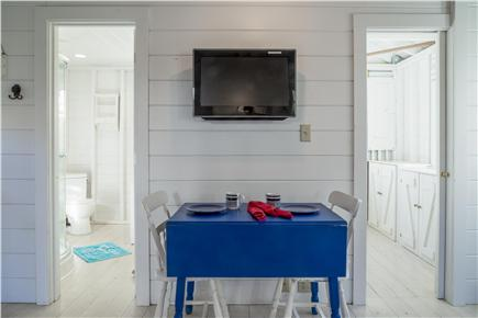 Chatham Cape Cod vacation rental - Dining area and entrance to bathroom and bedroom