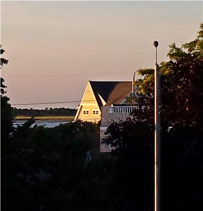 Barnstable Harbor Cape Cod vacation rental - View from the deck