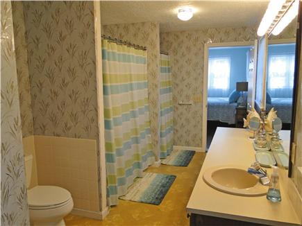 Barnstable Harbor Cape Cod vacation rental - Downstairs bath with tub and two showers