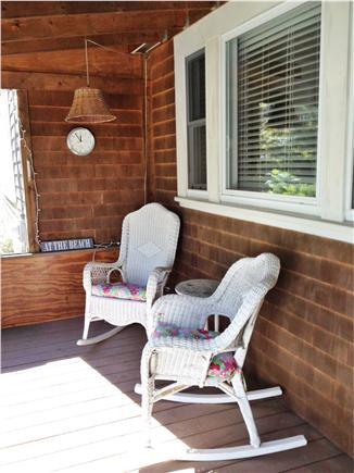 Eastham Cape Cod vacation rental - Screened in porch