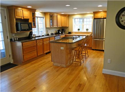 Brewster Cape Cod vacation rental - Bright beautiful kitchen with stainless steel appliances