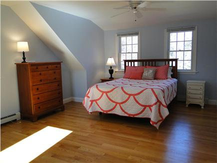 Brewster Cape Cod vacation rental - Queen size bedroom upstairs includes twin bed