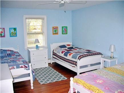 West Dennis Cape Cod vacation rental - Bedroom 3 has three twin beds