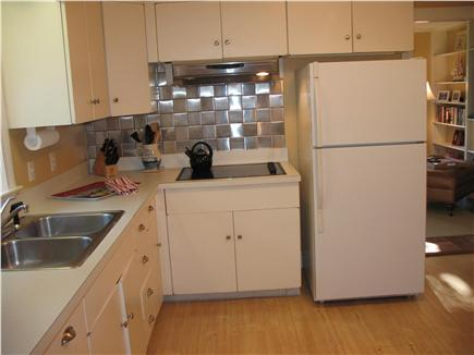 West Dennis Cape Cod vacation rental - Kitchen with appliances has all new dishes, utensils, & cookware