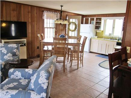 Eastham Cape Cod vacation rental - View from living room into kitchen and dining room