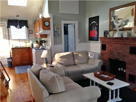 South Chatham Cape Cod vacation rental - Bright kitchen area with gas stove and new pots and utensils