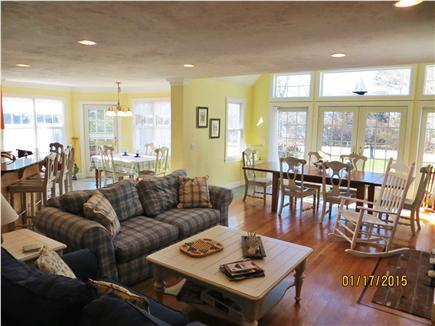 Dennis Cape Cod vacation rental - Large Open Living Floor Plan