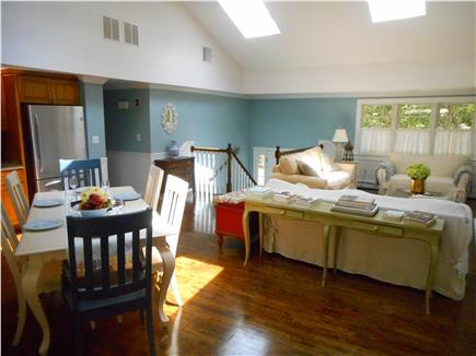 Centerville, Barnstable Centerville vacation rental - Charming living room with high ceiling and 4 sky lights.
