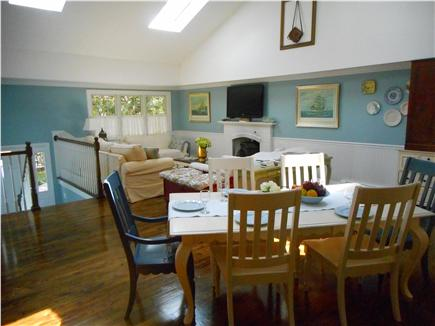 Centerville, Barnstable Centerville vacation rental - Bright open-floor plan with dining table for 8 people.