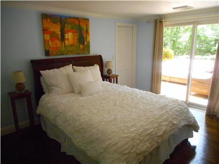 Centerville, Barnstable Centerville vacation rental - Spacious master bedroom with private entrance and bath.