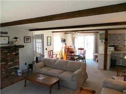 Eastham Cape Cod vacation rental - Living/Eating Area