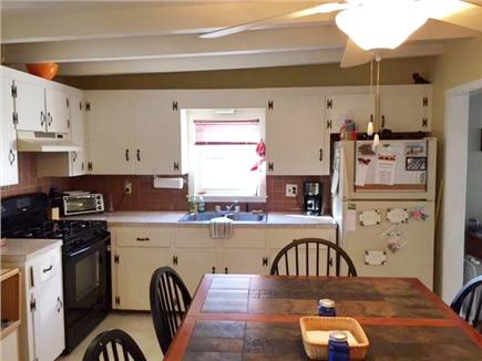 Manomet, White Horse Beach Manomet vacation rental - Kitchen, large eat in kitchen with everything you need!