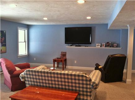 New Seabury, Mashpee New Seabury vacation rental - Walkout Finished Basement with flat screen TV and bedroom