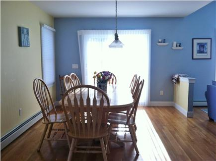 New Seabury, Mashpee New Seabury vacation rental - Large Dining Area with access to back deck