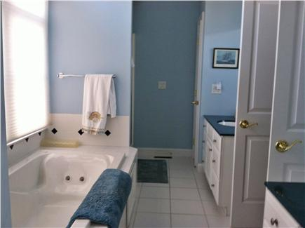 New Seabury, Mashpee New Seabury vacation rental - Master Bath with jacuzzi tub, separate shower and his/her sinks