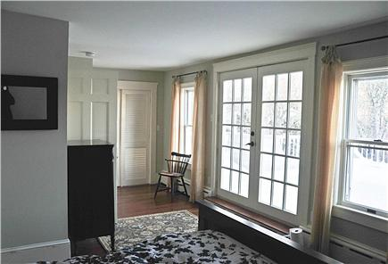 Chatham Cape Cod vacation rental - 2nd fl mstr french door to expansive private deck