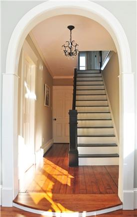 Chatham Cape Cod vacation rental - Stairs to second floor bdrs and 1st fl master straight ahead