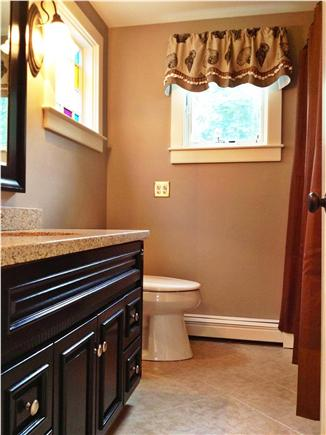Chatham Cape Cod vacation rental - First floor bathroom with full tub & shower