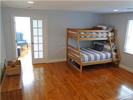 Harwich Port Cape Cod vacation rental - Bunks bed room with flatscreen TV